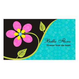 Plantilla grande intrépida de las tarjetas de tarjetas de visita