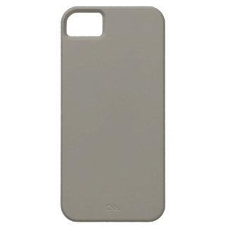 Plantilla gris de la tendencia del color del gris  iPhone 5 coberturas