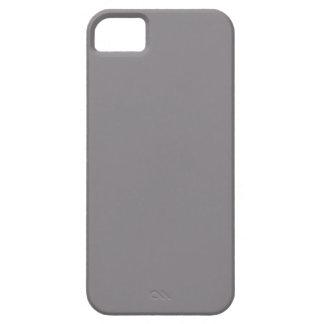 Plantilla gris del espacio en blanco de la tendenc iPhone 5 cobertura
