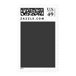 Plantilla gris oscuro gris profunda del espacio en sello