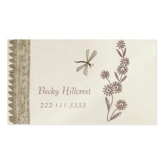 Plantilla hermosa de la tarjeta de visita de la mi