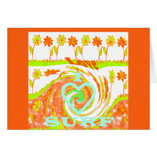 Plantilla horizontal de la tarjeta de felicitación