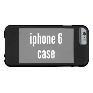 plantilla horizontal del ajuste del caso del funda de iPhone 6 barely there
