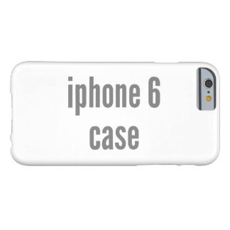 plantilla horizontal del terraplén del caso del funda barely there iPhone 6