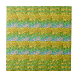 Plantilla ideal verde de oro de Goodluck + imagen Tejas Cerámicas