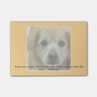 Plantilla - imagen y cita del mascota (o guarde es nota post-it