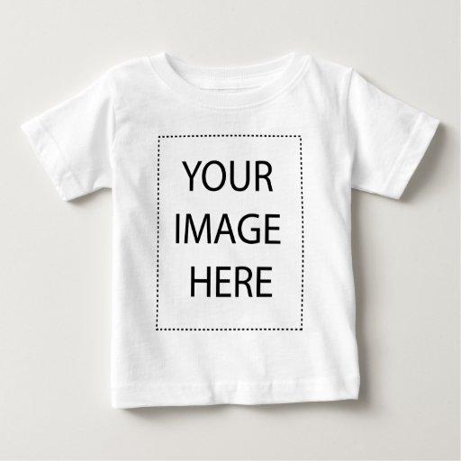 Plantilla infantil de la vertical de la camiseta playera
