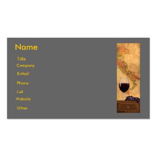 plantilla italiana de la tarjeta de visita