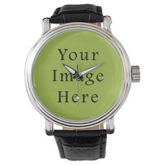 Plantilla ligera del espacio en blanco de la reloj