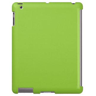 Plantilla ligera del espacio en blanco de la tende funda para iPad