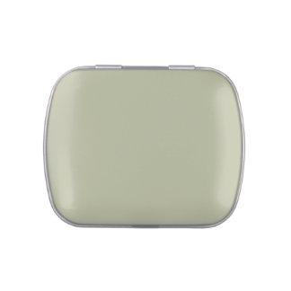 Plantilla ligera del espacio en blanco de la tende jarrones de caramelos