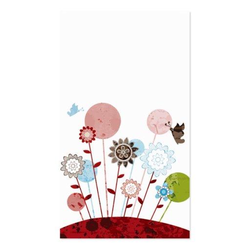 plantilla linda moderna de la tarjeta de visita de