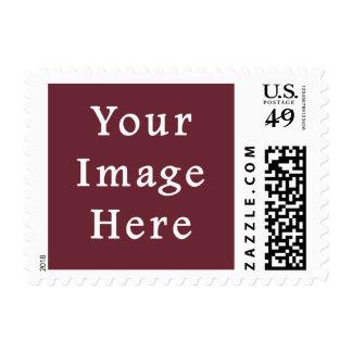 Plantilla magenta del espacio en blanco de la sello