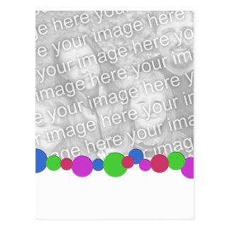 Plantilla multi vertical de la foto de los puntos postales