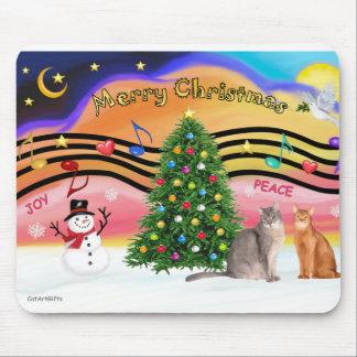 PLANTILLA - música 2 de Navidad Alfombrilla De Raton