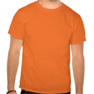 Plantilla negra de la araña camisetas