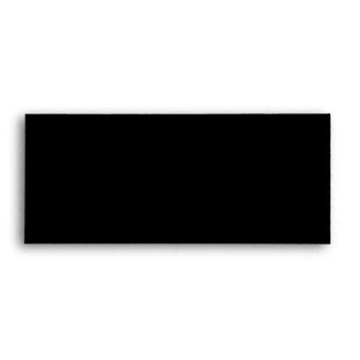 Plantilla negra del sobre #9