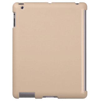 Plantilla neutral del espacio en blanco de la tend funda para iPad