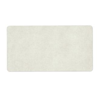 Plantilla neutral del papel de la antigüedad del etiqueta de envío