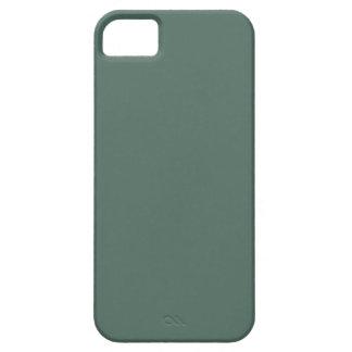 Plantilla oscura de la tendencia del color verde d iPhone 5 cárcasa