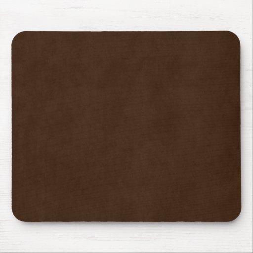 Plantilla oscura del pergamino de Brown del café e Alfombrillas De Raton