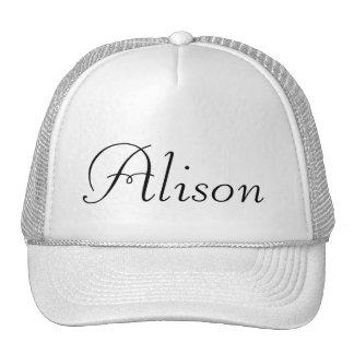 Plantilla para personalizar gorras de camionero