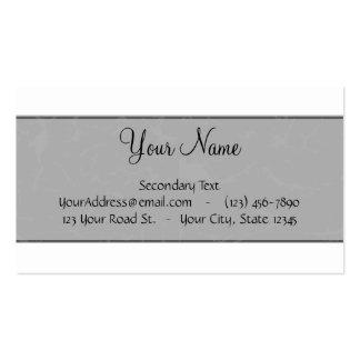 Plantilla partida del sello del monograma del pers plantilla de tarjeta de visita
