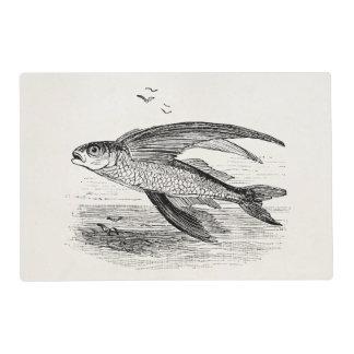 Plantilla personalizada antigüedad del pez volador salvamanteles