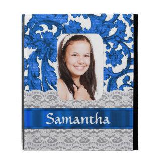 Plantilla personalizada cordón azul de la foto
