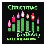 Plantilla personalizada de la fiesta de cumpleaños invitaciones personalizada