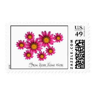 Plantilla personalizada de los sellos