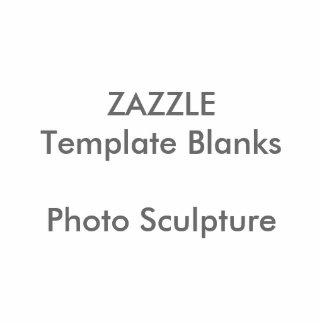 Plantilla personalizada del espacio en blanco del pin fotoescultura