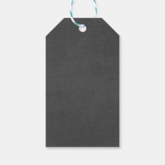 Plantilla - personalizar del fondo de la pizarra etiquetas para regalos