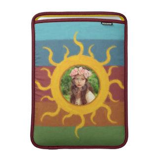 Plantilla pintada de la foto de Sun Funda MacBook