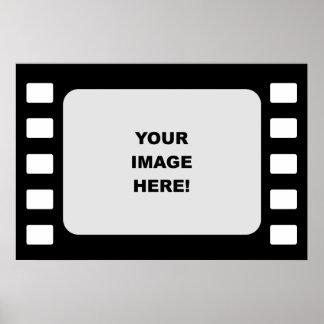 Plantilla, plantilla de la película póster