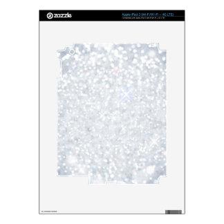 plantilla, plata, brillo, encanto, falso, buenas iPad 3 pegatinas skins