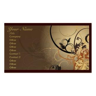 Plantilla profesional abstracta de la tarjeta de v tarjetas de visita