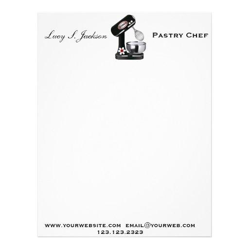 Plantilla profesional del papel con membrete del c membrete personalizado