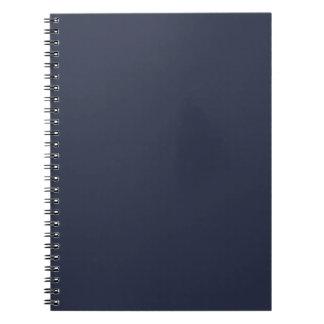 Plantilla profunda del espacio en blanco de la ten cuaderno