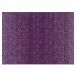 Plantilla púrpura de la berenjena para tabla para cortar