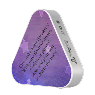 ¡Plantilla púrpura de Ombré! ¡Cree su propio Altavoz