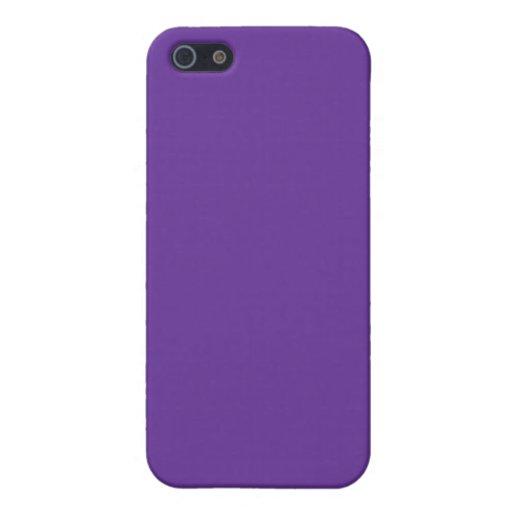 Plantilla púrpura del fondo del color sólido 66339 iPhone 5 cárcasas