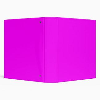 plantilla púrpura magenta para personalizar carpeta 3,8 cm
