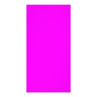 plantilla púrpura magenta para personalizar tarjeta personal