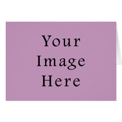 Plantilla púrpura violeta del espacio en blanco de tarjeta pequeña