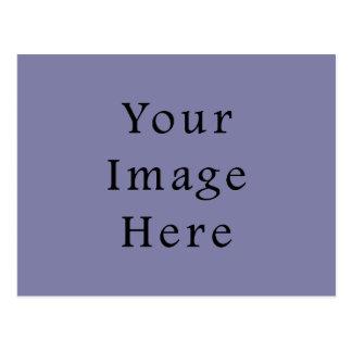 Plantilla purpúrea clara del espacio en blanco de  postales