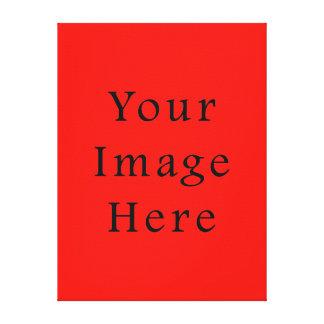 Plantilla roja de la tendencia del color del alcoh lona envuelta para galerias