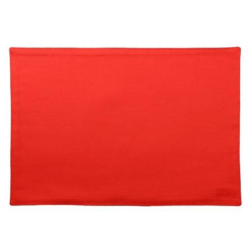 Plantilla roja de la tendencia del color del alcoh manteles