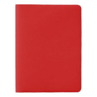 Plantilla roja funda para libreta y libreta extra grande moleskin