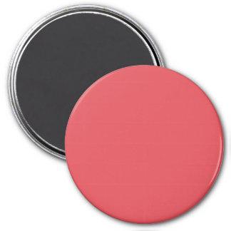 Plantilla rosada amelocotonada de color salmón del imán para frigorifico